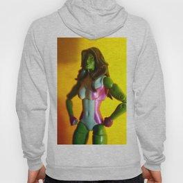 The Sensational She-Hulk Action Figure Hoody