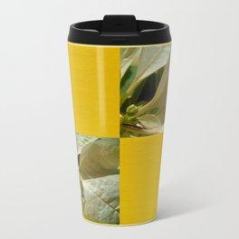 Pale Yellow Poinsettia 1 Blank Q7F0 Travel Mug