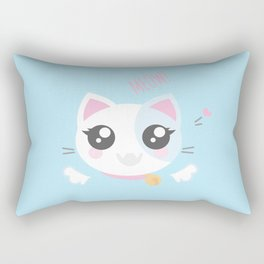 Kitty Rectangular Pillow