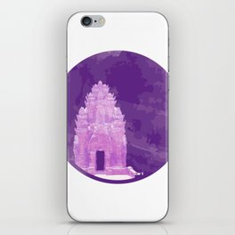 Vietnam Champa Tower Ninh Thuan Vestige iPhone Skin