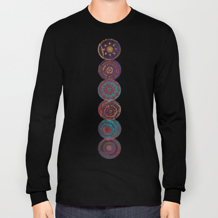 Mysterious Circles Long Sleeve T-shirt