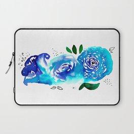 Three Blue Christchurch Roses Laptop Sleeve