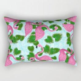 Flamingo Fun Rectangular Pillow