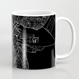 Dublin Black Map Coffee Mug