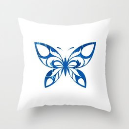 Butterfly 173 Throw Pillow