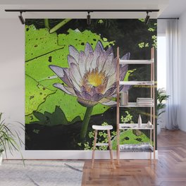 Water lily pad Wall Mural