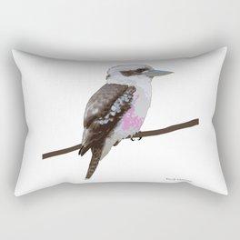 Kookaburra, Kingfisher Bird Rectangular Pillow