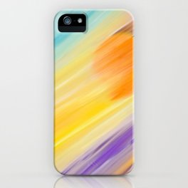 """""""Catch the Sun #1 – Sequel #2"""" Oil Painting iPhone Case"""