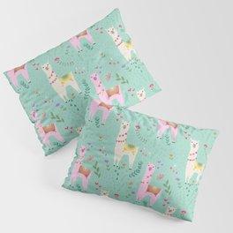 Llama Pattern Pillow Sham