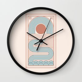 Zen River Wall Clock