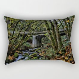 Chuckanut Drive Bridge Rectangular Pillow