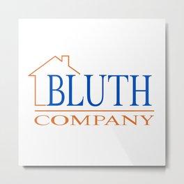 Bluth Company logo Metal Print