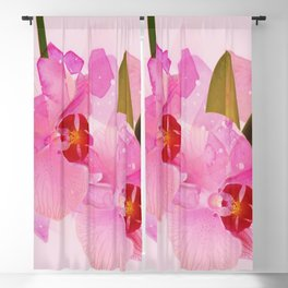 broken orchid Blackout Curtain