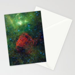 Ancient Supernova Revealed Stationery Cards