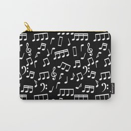 Musical Notes Pattern Carry-All Pouch