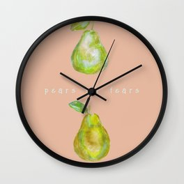 Pears for Fears Wall Clock