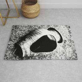 Decorative pottery Rug