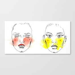 XXX girls Canvas Print