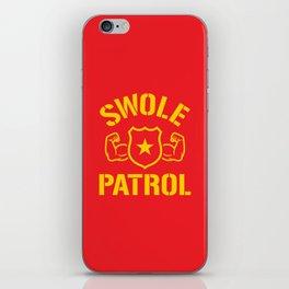Swole Patrol iPhone Skin