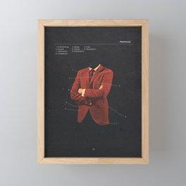 Manhood Framed Mini Art Print