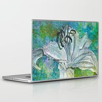lily Laptop & iPad Skins featuring Lily by Saundra Myles