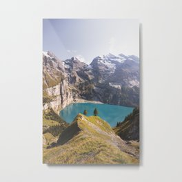 Afternoon at Oeschinensee Metal Print