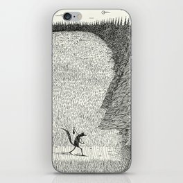 'The Field By The Forest' iPhone Skin