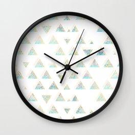 pattern no. 3 / missing summer Wall Clock