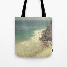Vintage Malibu Beach Tote Bag