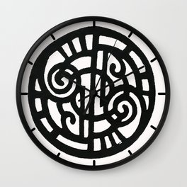 Black and White Design 41 Wall Clock