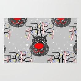 Reindeer Nose Rug