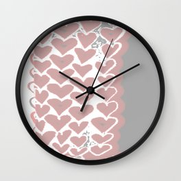 Heart 11.25 Wall Clock