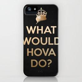 Hova V2 BLK iPhone Case