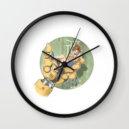 Manga 2 Wall Clock