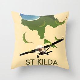 St Kilda, Outer Hebrides Scotland Throw Pillow