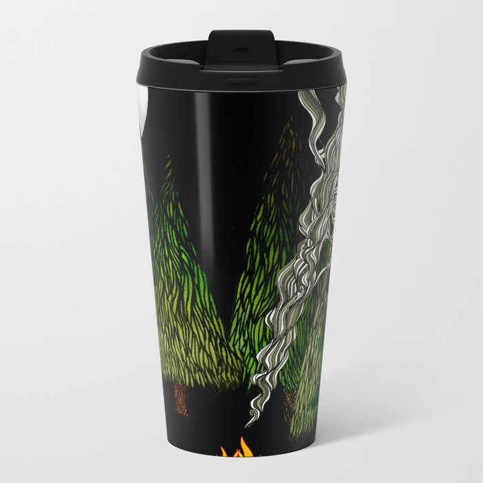 Campfire Metal Travel Mug