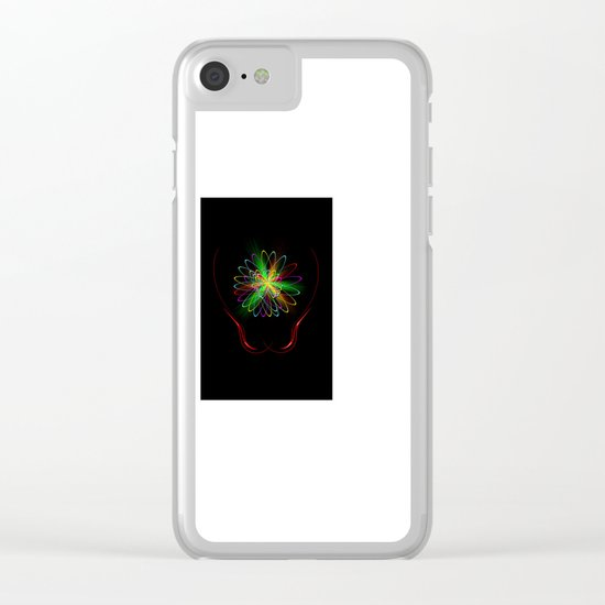 Abstract Perfection 56 Clear iPhone Case