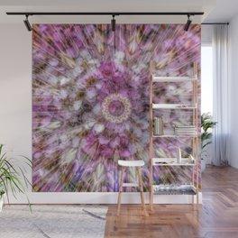 Floral fusion mandala Wall Mural