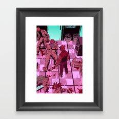 Hotline Miami Framed Art Print