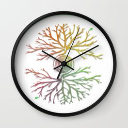 Tree of Life in Balance Wall Clock