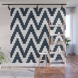 Twine in Navy Blue Wall Mural