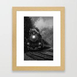 Lehigh Gorge Railroading Framed Art Print