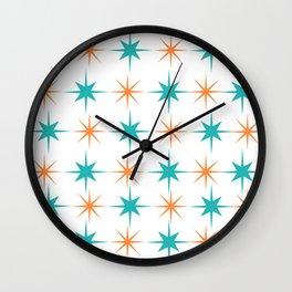 Mid-Century Modern Art Starburst 1.0 Wall Clock