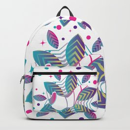 Colorful shofar with patterns Backpack
