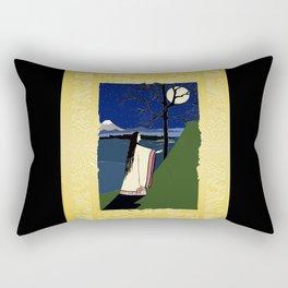 Kaguya Hime Daughter Of The Moon Rectangular Pillow