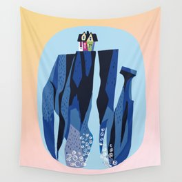 Baesic Paradise Falls Wall Tapestry
