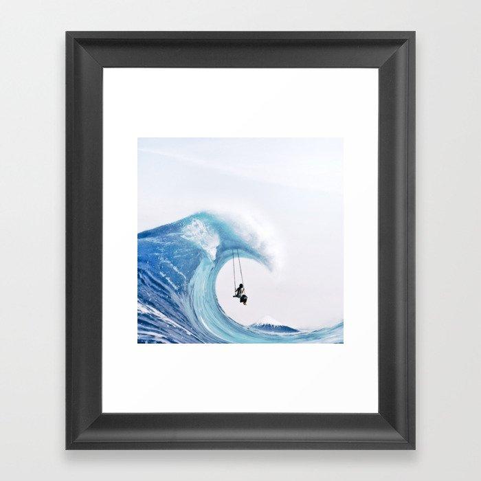 The Great Wave Gerahmter Kunstdruck
