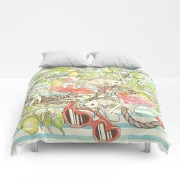 Sea, Sun and Fun - Pt. 1  Comforters