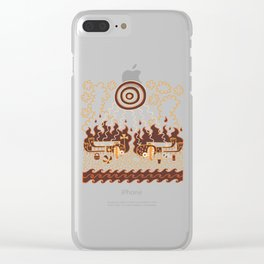 Shall We Now Go for a Swim, Darling, Yes, Darling Clear iPhone Case