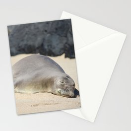 sleep with one eye open Stationery Cards